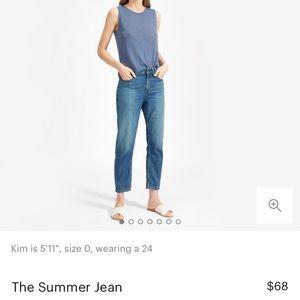 Everlane Summer Jeans in Light Blue EUC